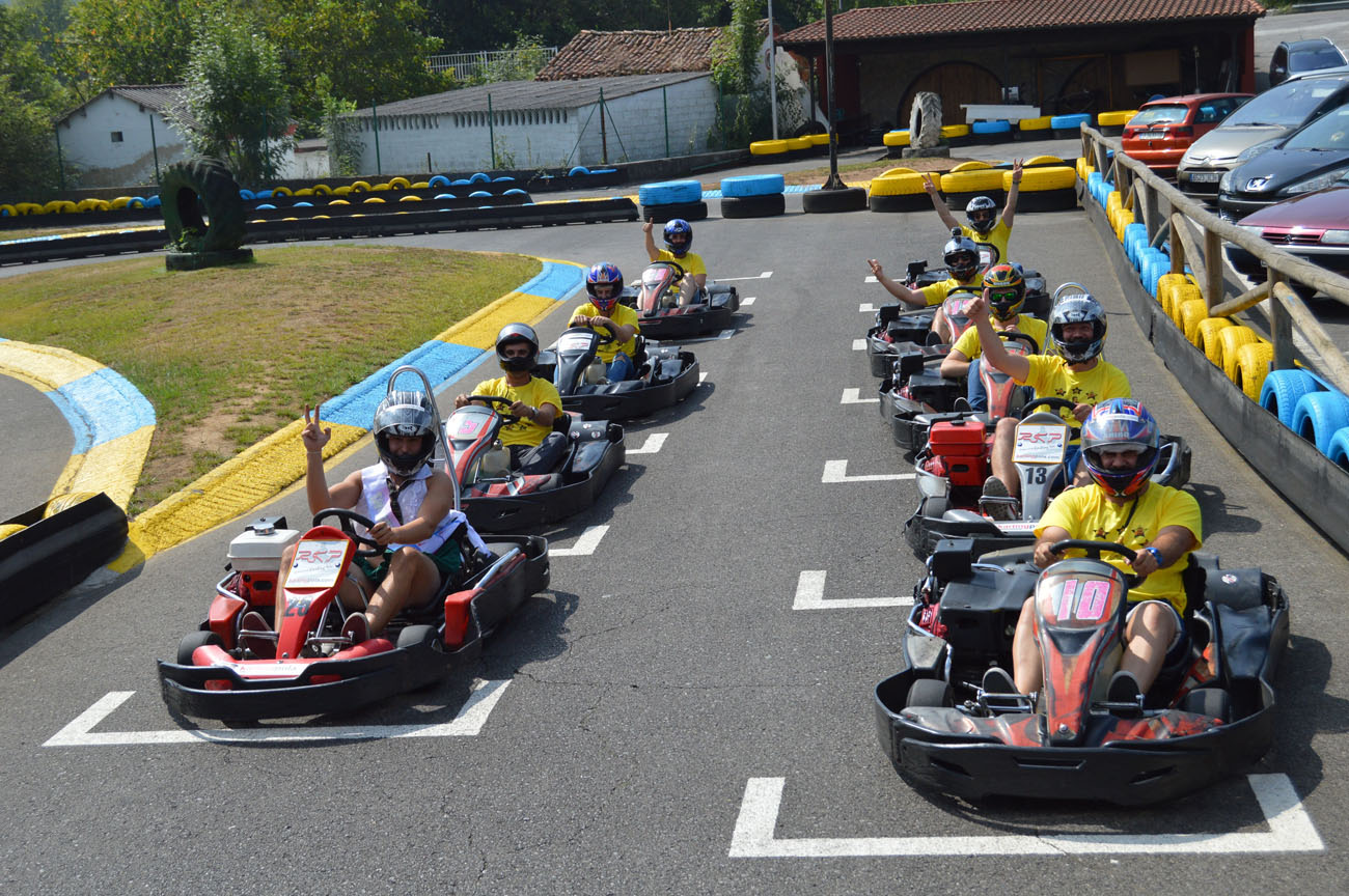 Karting и Paintball