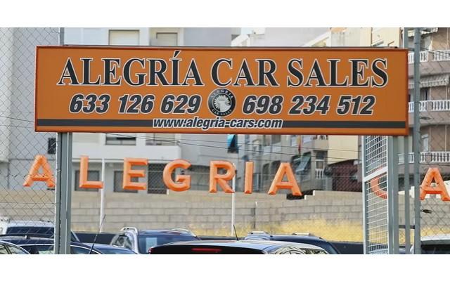 Открытие стоянки купли-продаже авто Alegria Cars