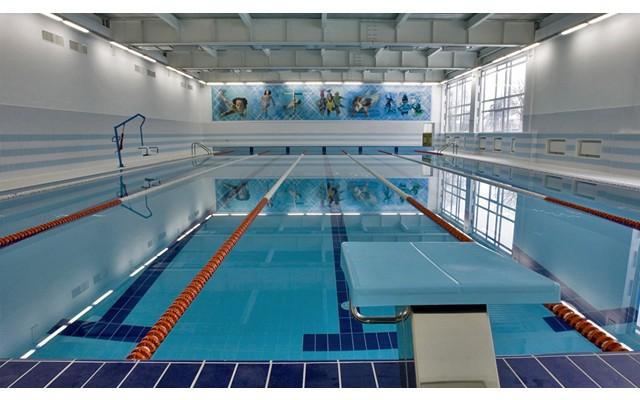 Крытый бассейн во Дворце спорта откроют в начале сезона