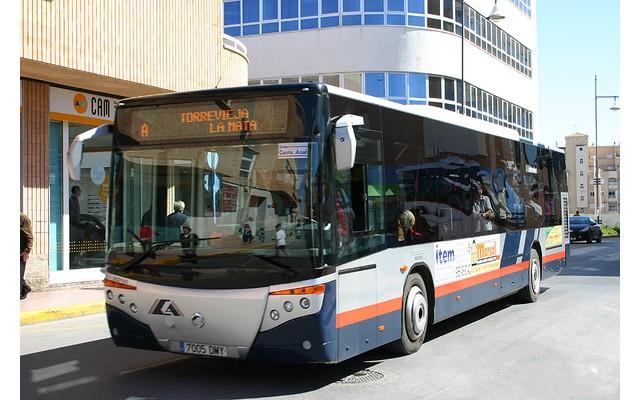Расписание автобусов в Торревьехе