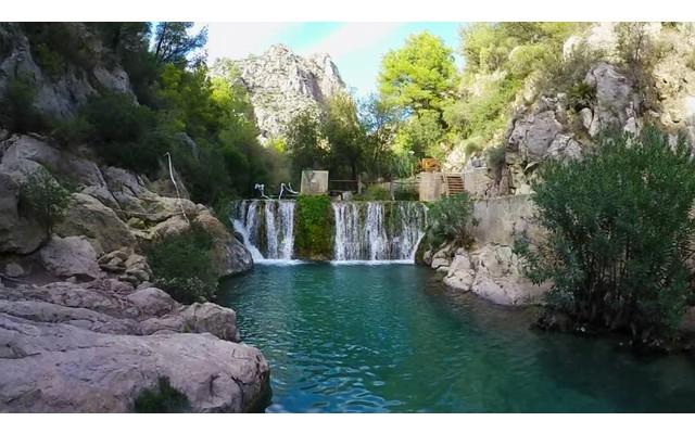 Водопады Les Fonts de l'Algar