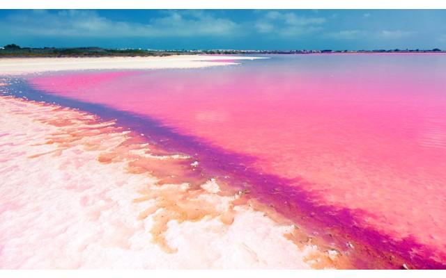 Штраф до 6 000 евро не останавливают купальщиков розового озера