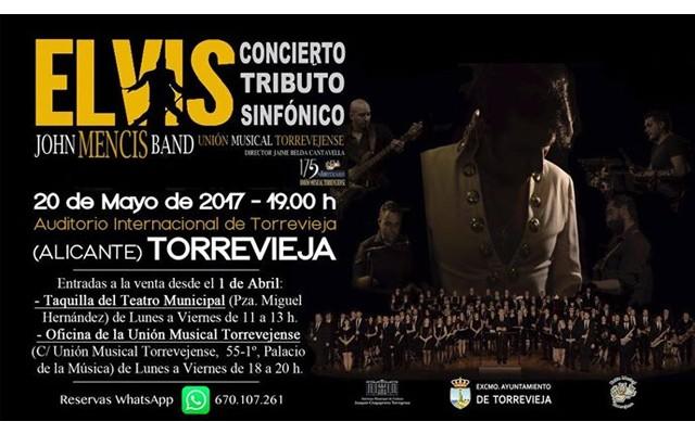 Розыгрыш билетов на концерт «Tributo a Elvis»