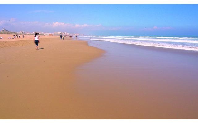 Пляж Ла Мата Торревьеха Playa de La Mata