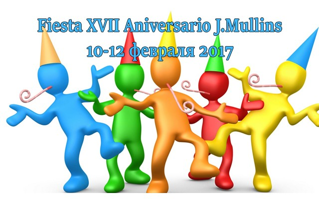 Fiesta XVII Aniversario J.Mullins