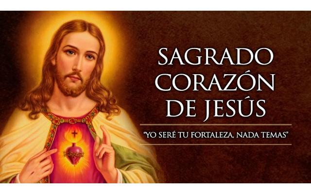 Сердце Иисуса: Sagrado Corazón de Jesús 2016