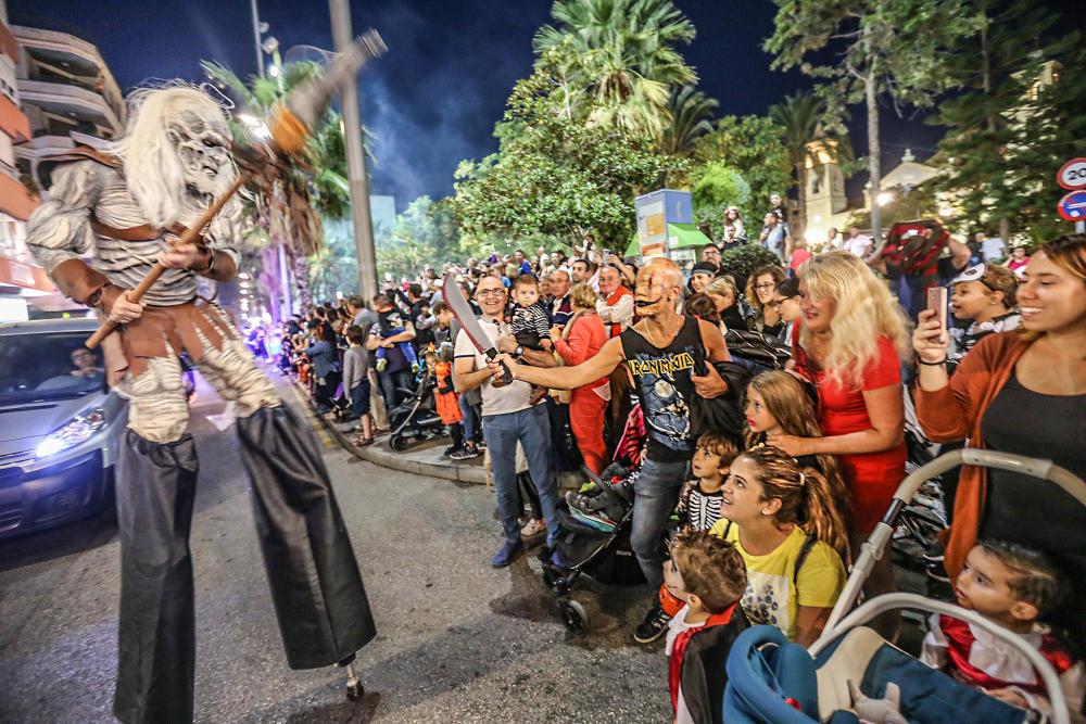 Хэллоуин в Торревьехе 2019