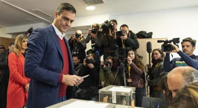 Результаты общенациональных парламентских выборов 2019 в Испании