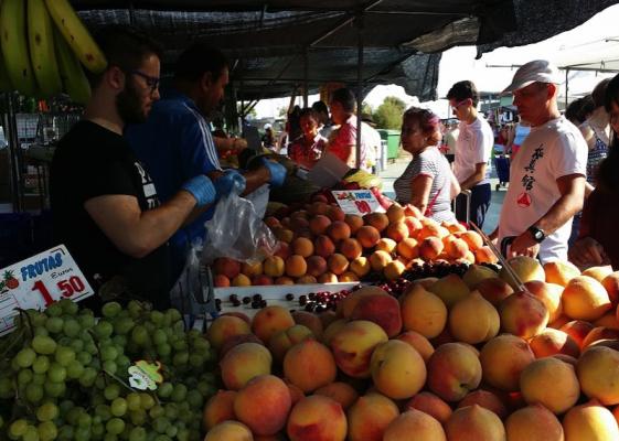 В Торревьехе благоустроят пятничный рынок в парке Antonio Soria