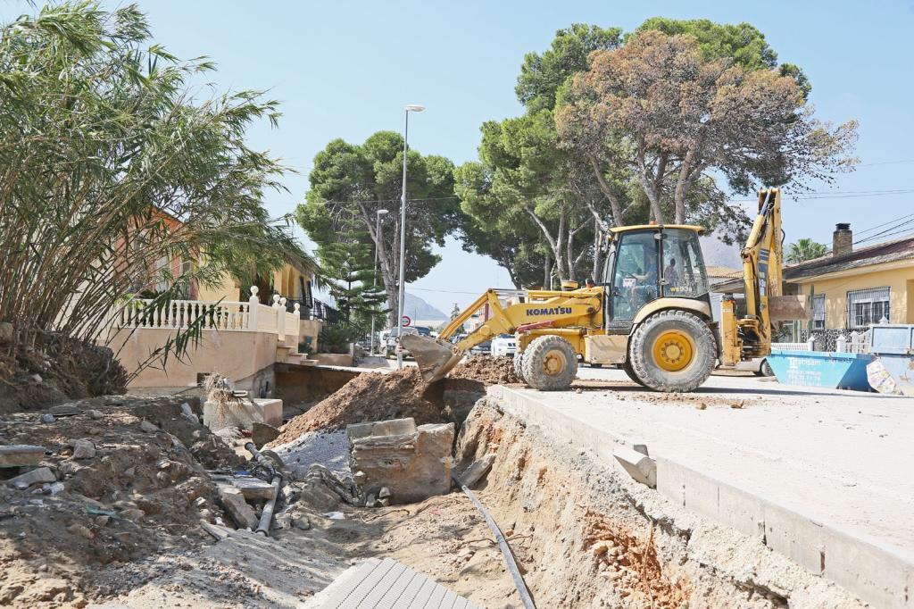Аликанте выделит €250 000 на срочный ремонт дорог, разрушенных стихией