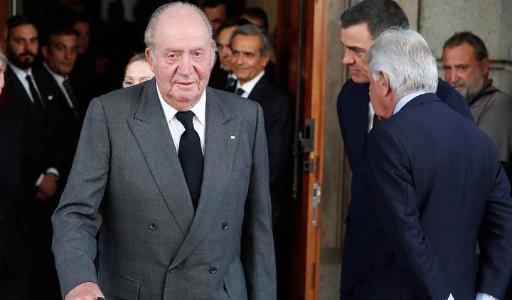 Бывший король Испании Хуан Карлос I уехал из страны