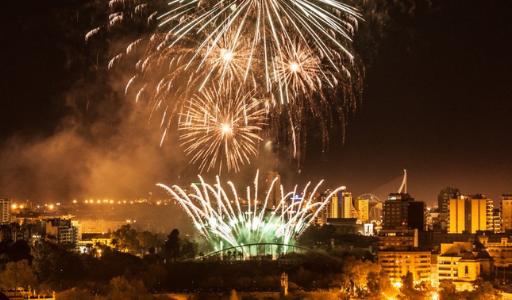 Пиротехнические шоу в Валенсии в честь Дня Валенсийского сообщества: где и во сколько
