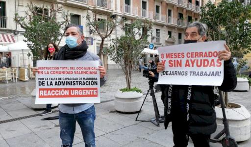 Ночные увеселительные заведения Валенсийского сообщества смогут работать днем как бары