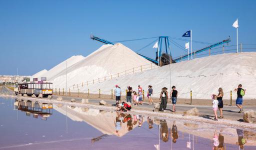 Самые большие соляные копи Европы находятся в Торревьехе