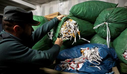 Полиция Андалусии пресекла деятельность крупной нелегальной табачной фабрики