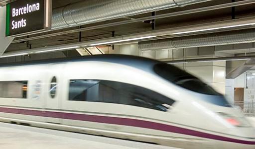 Поступили в продажу билеты по цене от 25 евро на новый скоростной поезд между Мадридом и Барселоной