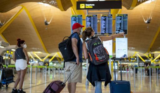 В июне 2021 года Испанию посетило в 10 раз больше туристов, чем годом ранее